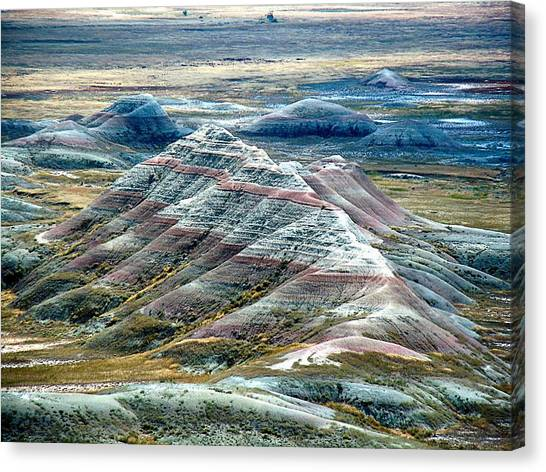 Badlands1 Canvas Print