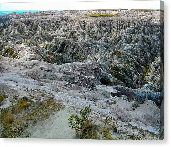 Badlands2 Canvas Print
