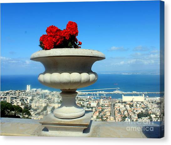 Bahai's Garden - Haifa Canvas Print
