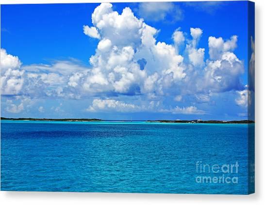 Bahama Blues 5 Canvas Print