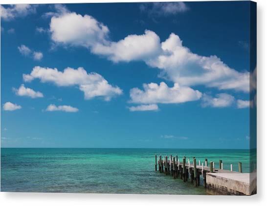 Eleuthera Canvas Print - Bahamas, Eleuthera Island, Hatchet Bay by Walter Bibikow
