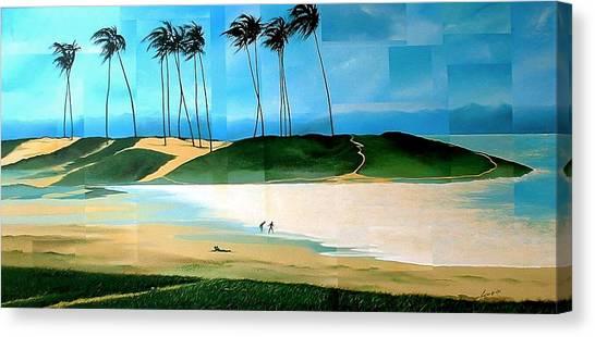 Bahia Canvas Print by Laurend Doumba