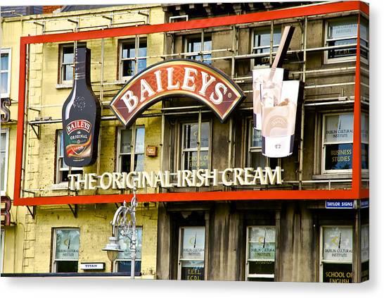 Baileys Irish Cream Canvas Print