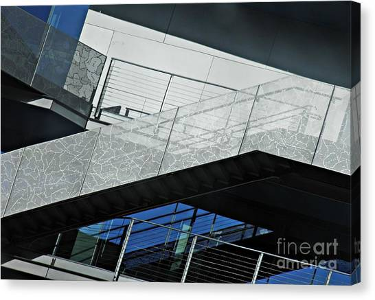 Columbia University Canvas Print - Baker Athletics Complex 2 by Sarah Loft
