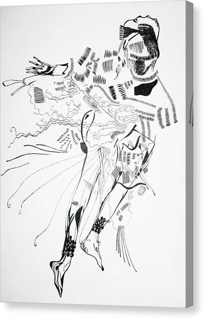 Gloria Canvas Print - Bakiga Dance - Uganda by Gloria Ssali