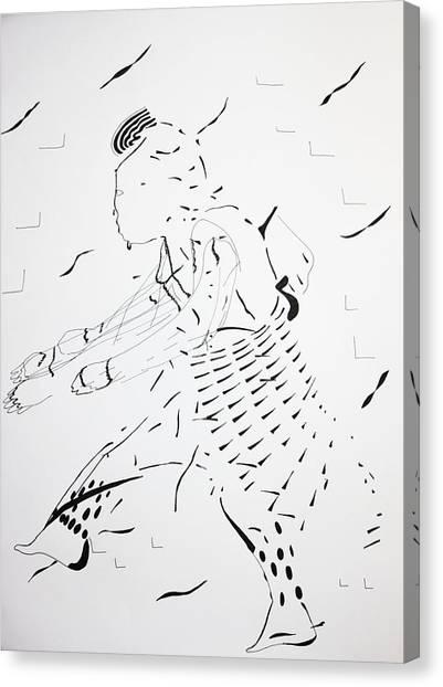 Gloria Canvas Print - Bakiga Dance - Ugandan Dance by Gloria Ssali