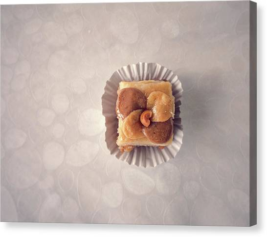 Baklawa With Almonds Canvas Print by Samere Fahim Photography