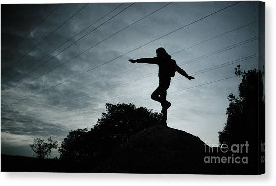 Balance Canvas Print by Kyle Walker