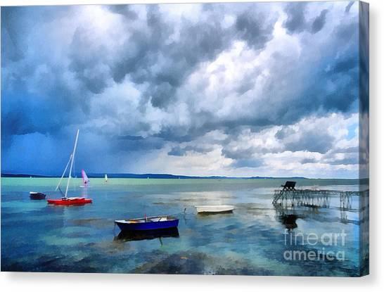 Balaton Lake Canvas Print