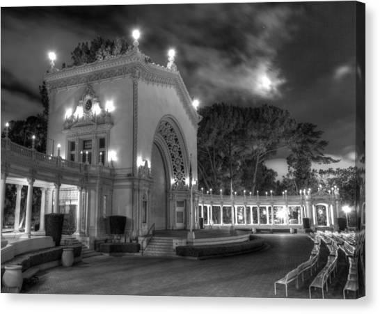 Balboa Park Organ Pavilion Canvas Print