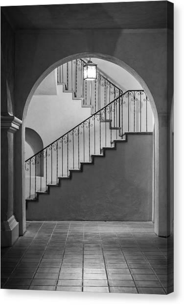 Balboa Park Stairs Canvas Print