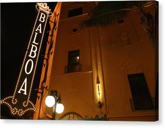 Balboa Theatre Canvas Print