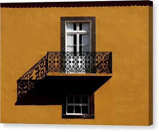 Balcon Canvas Print by Hans-wolfgang Hawerkamp