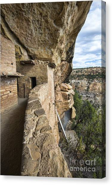 Balcony Houes 2 Canvas Print by Keith Ducker
