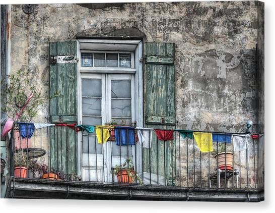 Balcony View Canvas Print