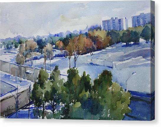 Balcony View Canvas Print