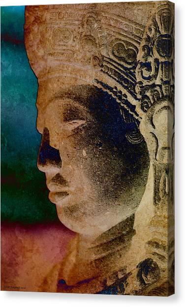 Balinese 3 Canvas Print