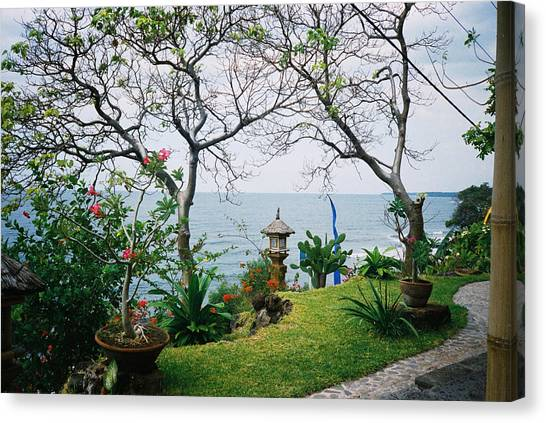 Canvas Print - Balinese Garden by Christine Rivers