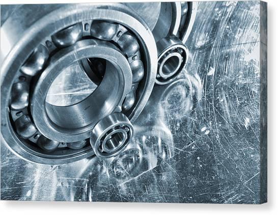 Ball Bearings And Engineering Canvas Print