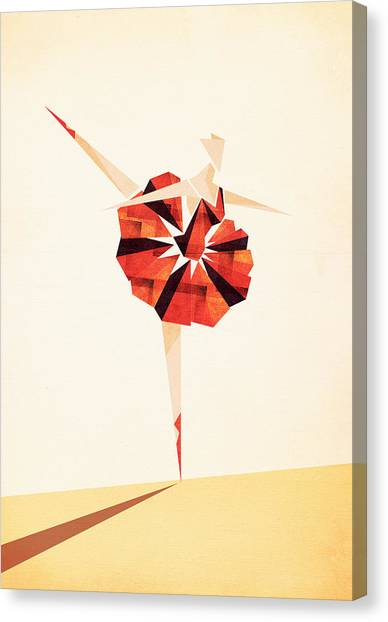 Ballerinas Canvas Print - Ballance  by VessDSign