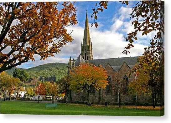 Ballater Church Canvas Print