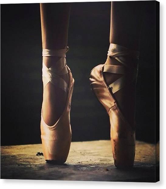 Ballerinas Canvas Print - #ballerina #ballet #dancing #dancer by Jesse Vargas