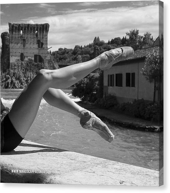 Ballerinas Canvas Print - #ballerina #balletdancers by Marco Cappalunga