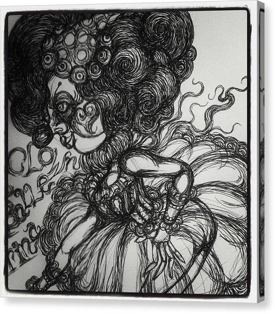 Ballerinas Canvas Print - Ballerina Girl :-) by Akiko Okabe
