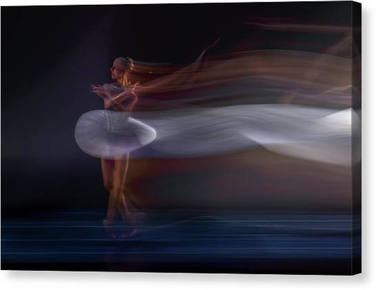 Ballerina Canvas Print by Libby Zhang