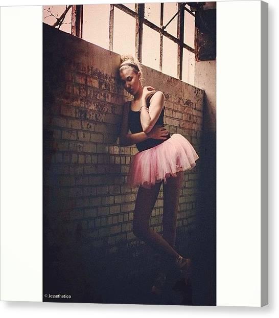 Ballerinas Canvas Print - #ballet #ballerina #dancer #mood by Jesse Vargas