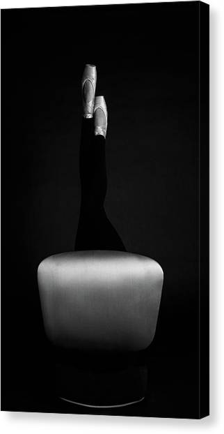 Legs Canvas Print - Ballet by Bettina Tautzenberger
