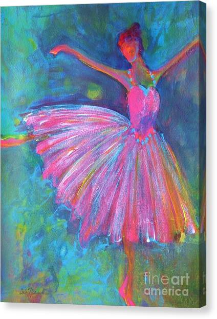 Ballerinas Canvas Print - Ballet Bliss by Deb Magelssen
