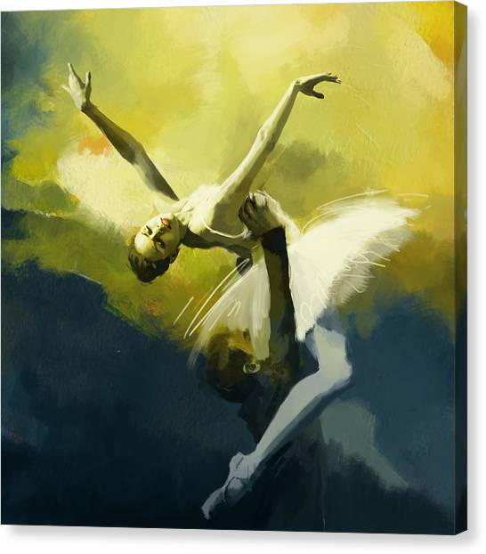 Catf Canvas Print - Ballet Dancer by Corporate Art Task Force