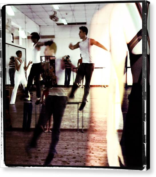 Ballet Doble Canvas Print