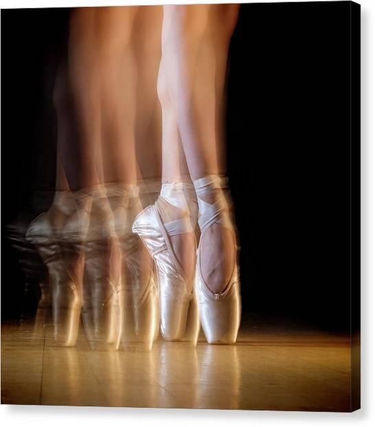 Ballet Canvas Print by Howard Ashton-jones