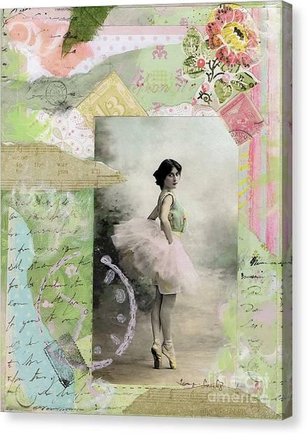Ballet Toes Canvas Print