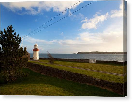 Waterford Canvas Print - Ballinacourty Lighthouse, Dungarvan by Panoramic Images