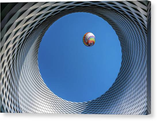 Hot Air Balloons Canvas Print - Ballon [ O ] by Markus Lissner