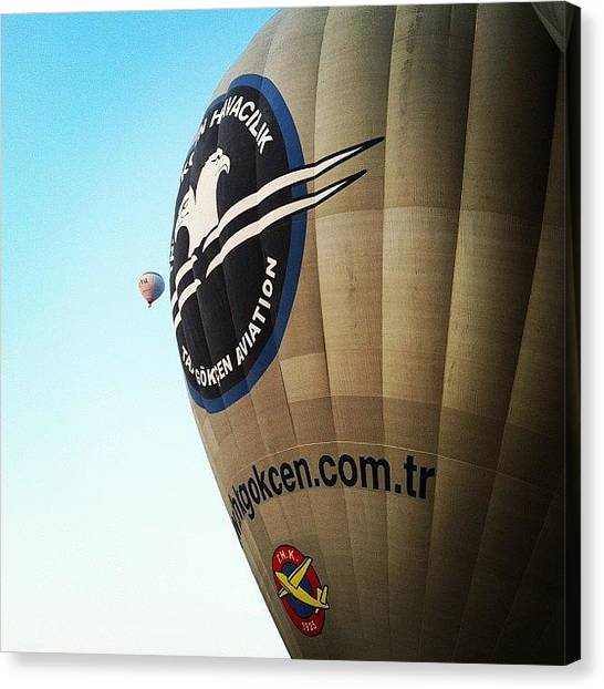 Balloons Canvas Print - #balloon #balon #thk #ürgüp by Ozan Goren