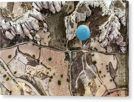 Hot Air Balloons Canvas Print - Balloon by Engin Karci