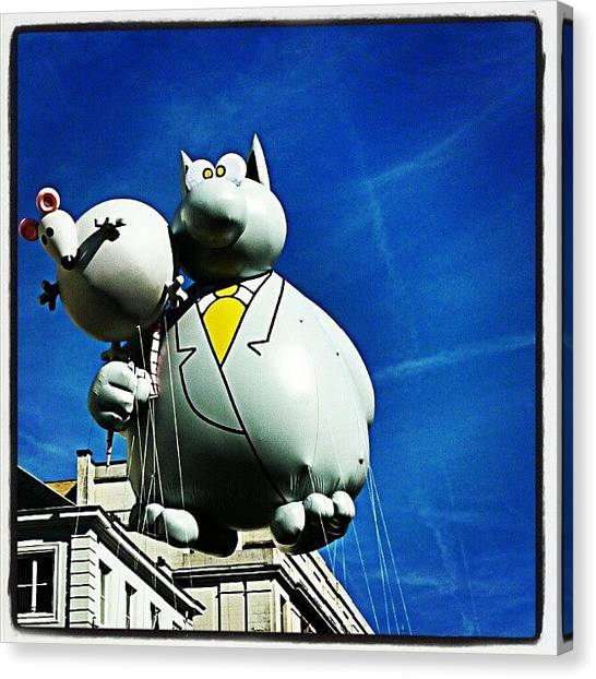 Mice Canvas Print - Balloon's Day Parade  N 1 by Gianluca Deplano