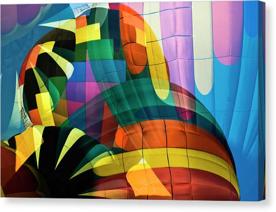 Hot Air Balloons Canvas Print - Balloons by Jerry Berry