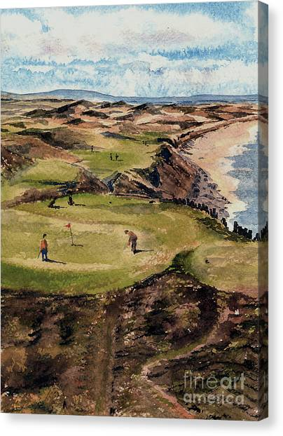 Kerry  Ballybunion G C Canvas Print