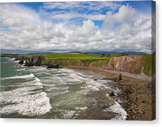 Waterford Canvas Print - Ballydowane Cove On The Copper Coast by Panoramic Images