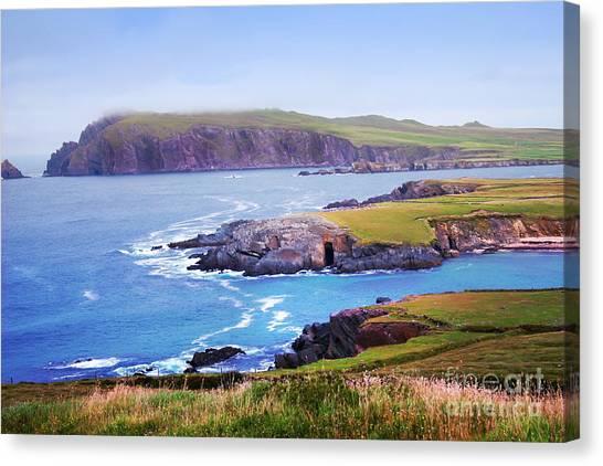 Ballyferriter Co. Kerry Ireland Canvas Print by Jo Collins