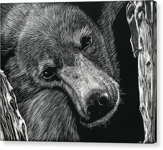 Baloo Canvas Print