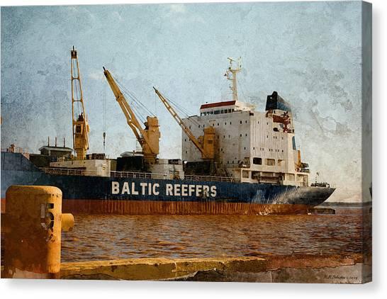 Baltic Moon 2 Canvas Print