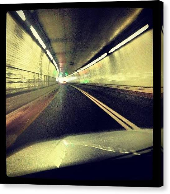 Interstates Canvas Print - Baltimore Harbor Tunnel by Michael Maiale