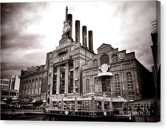 Baltimore Maryland Canvas Print - Baltimore United Railways And Electric Company by Olivier Le Queinec