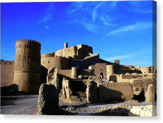 Bam Citadel Canvas Print by Babak Tafreshi